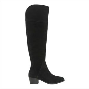 Vince Camuto Bendra Leather Over the Knee Boots
